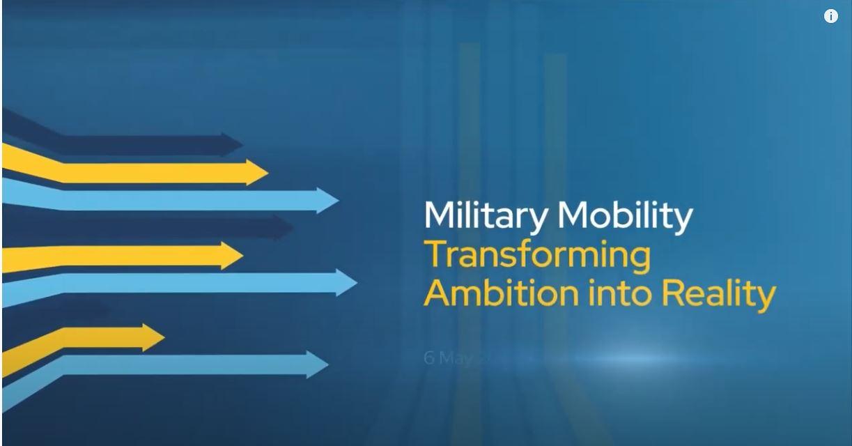 High-Level Military Mobility Symposium 2021