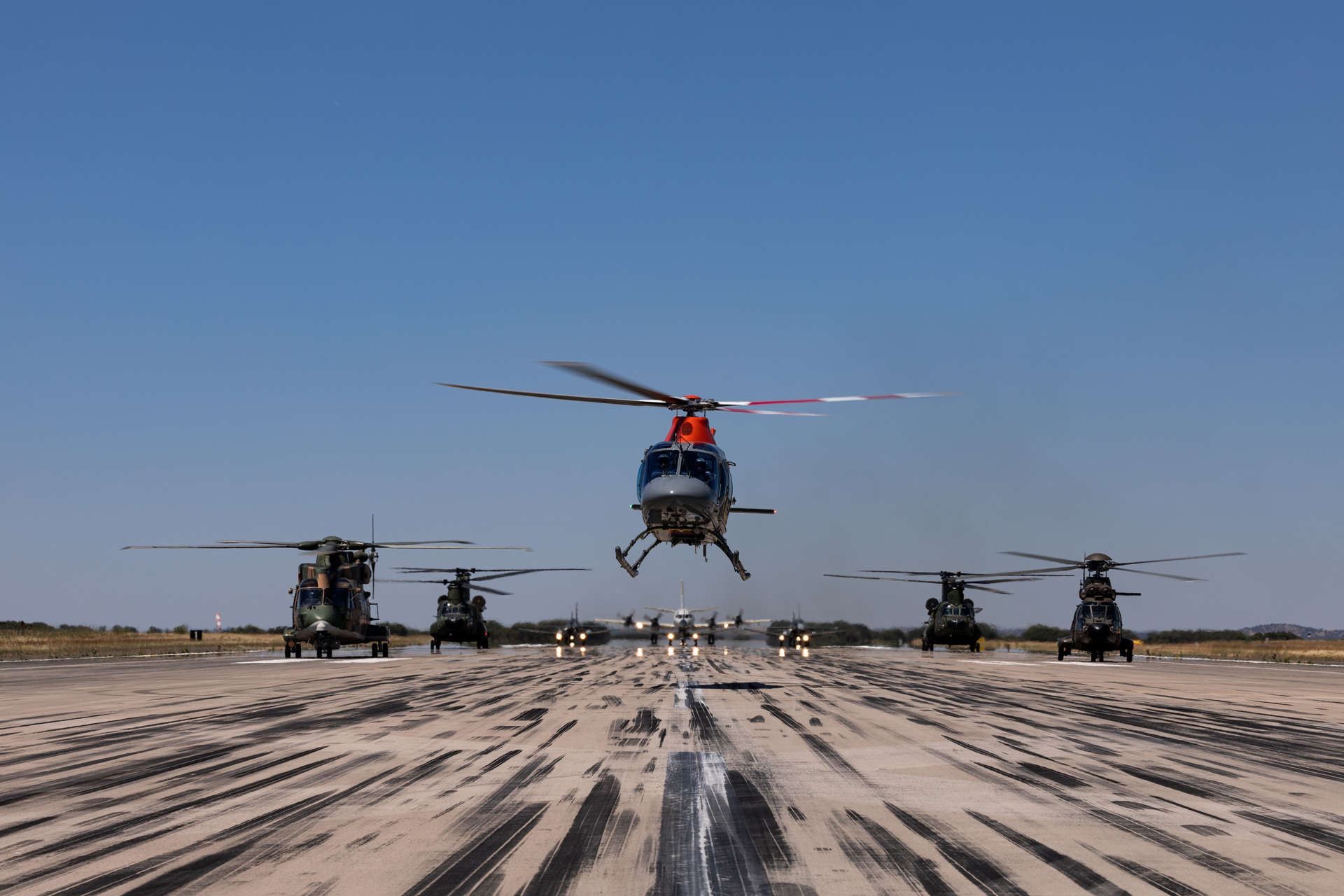 HOT BLADE 21 increased interoperability among helicopter crews