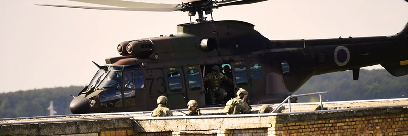 FIRE BLADE 2017: 11th EDA Helicopter exercise concludes after successful live firing operations