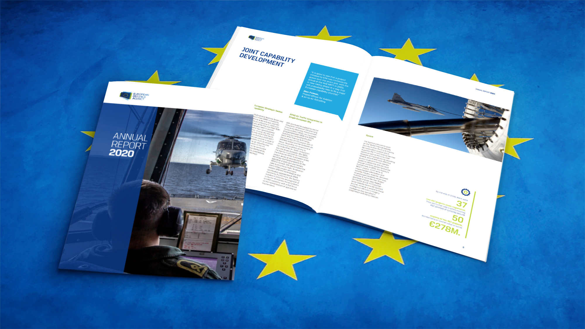 EDA's Annual Report 2020 is out!