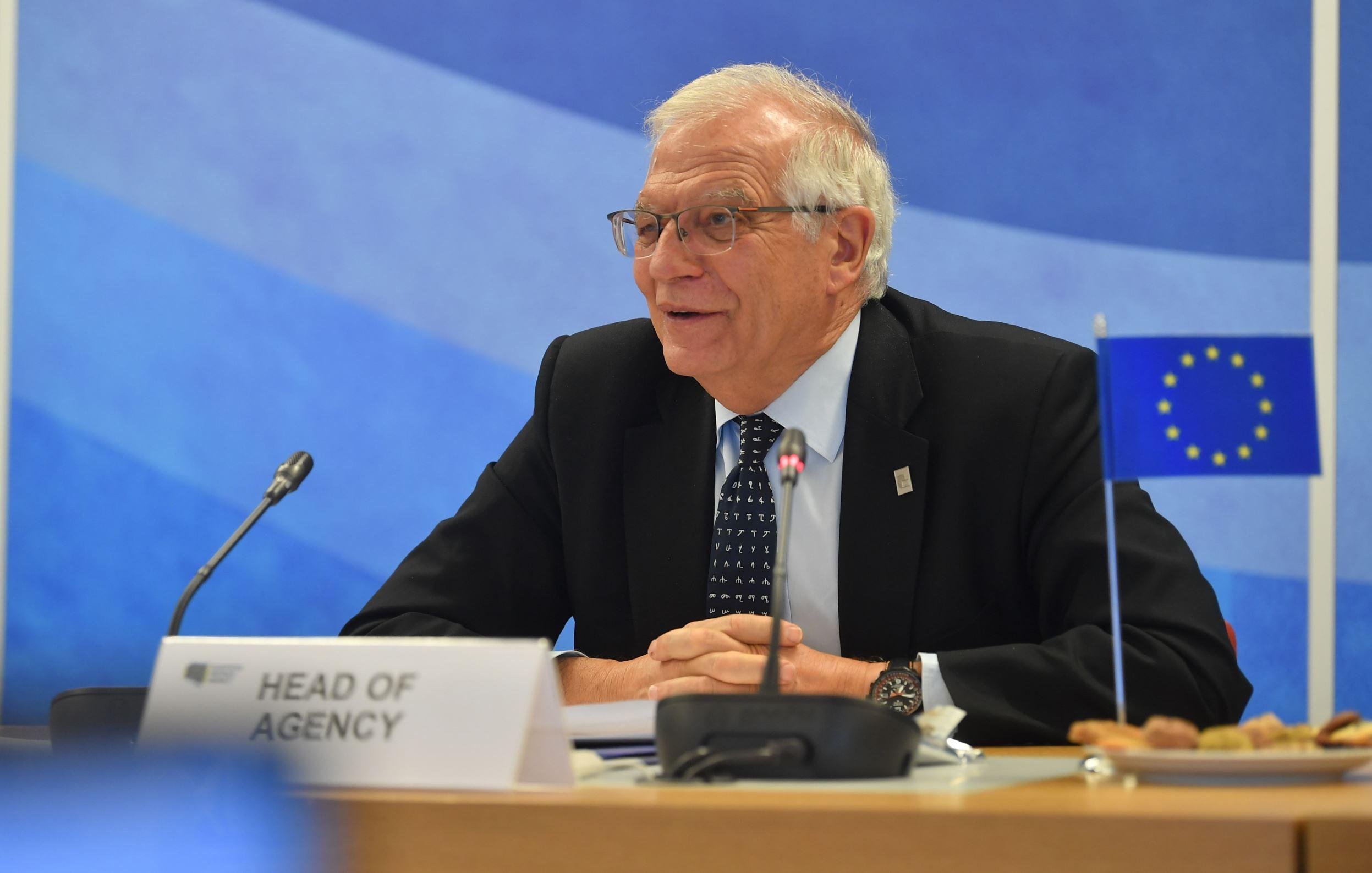 HRVP Josep Borrell visits the European Defence Agency