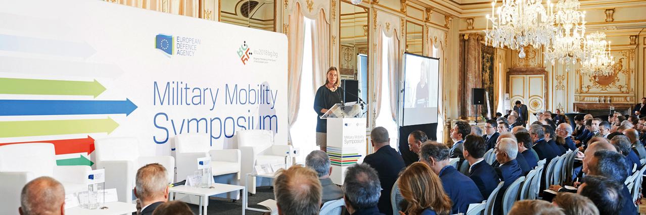 EDA and Bulgarian EU Presidency highlight importance of military mobility