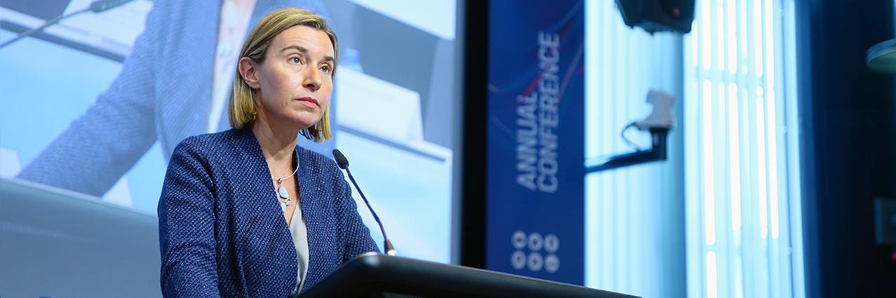 Federica Mogherini opens EDA Annual Conference 2016