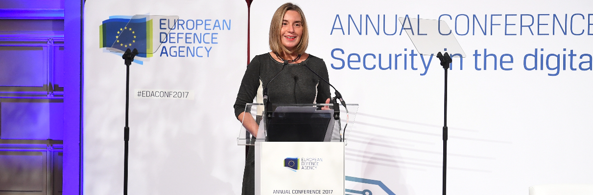 "Federica Mogherini opens Annual Conference at ""most important moment for EU defence in decades"""