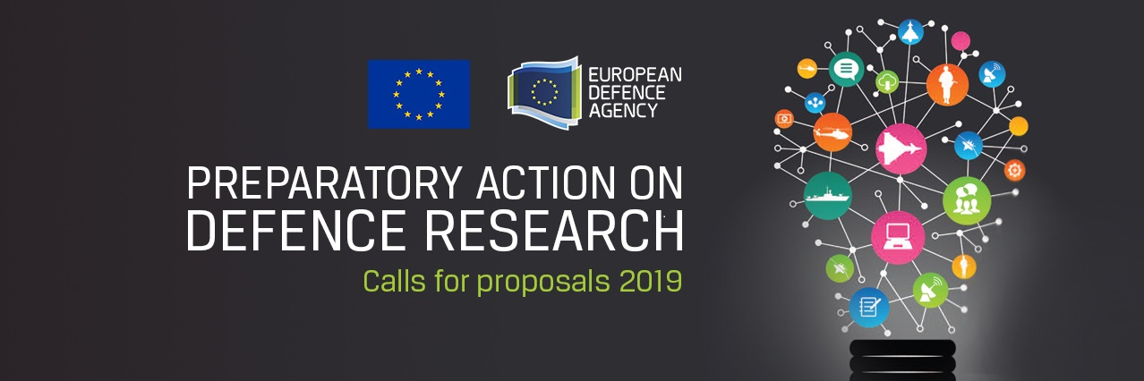 2019 calls for proposals on Preparatory Action on Defence Research published - Info & Brokerage Day on 11 April 2019