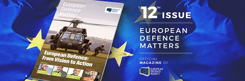 ONLINE from now on: the new EDA magazine is out!