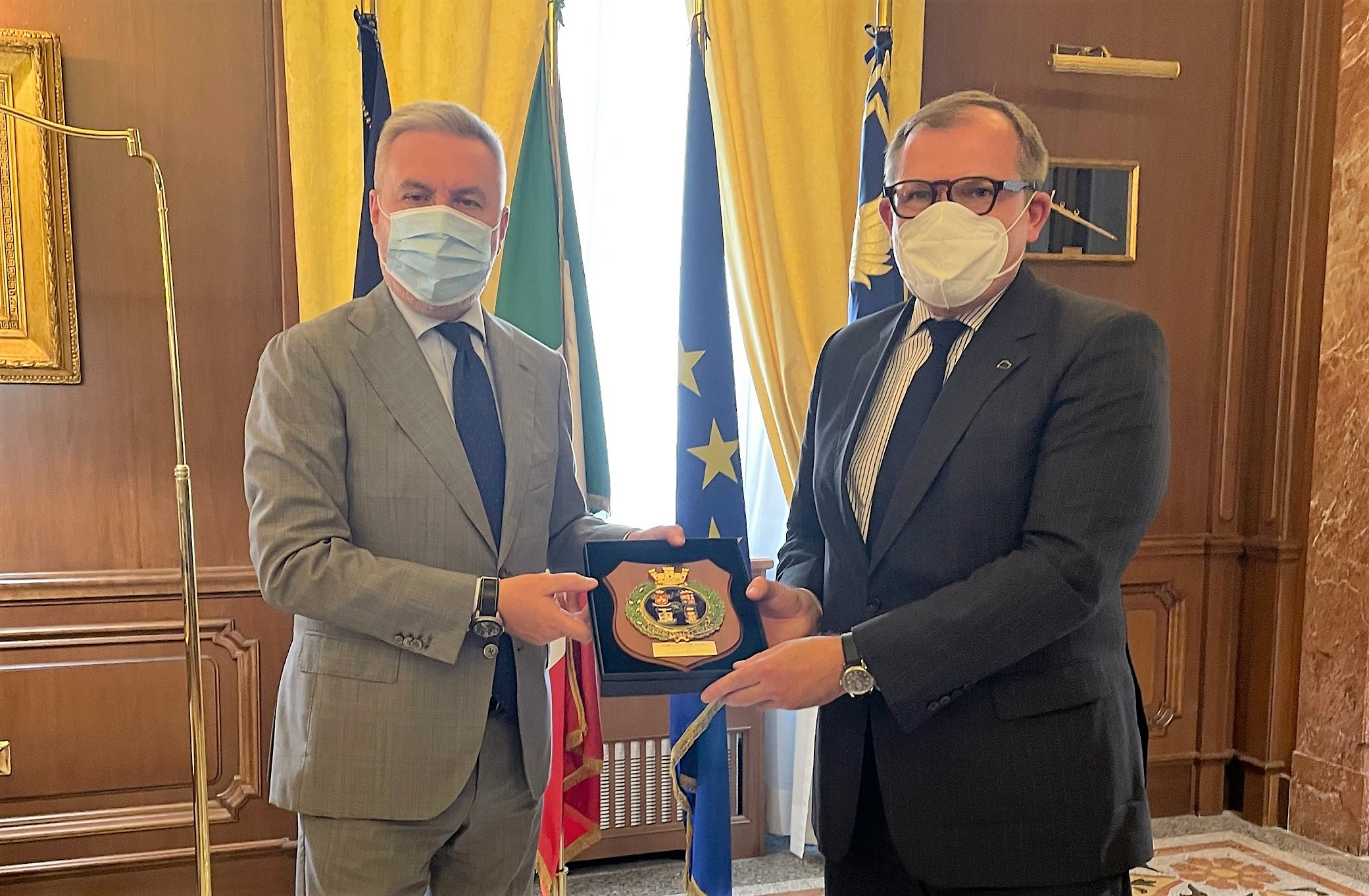 CE in Italy for high level talks