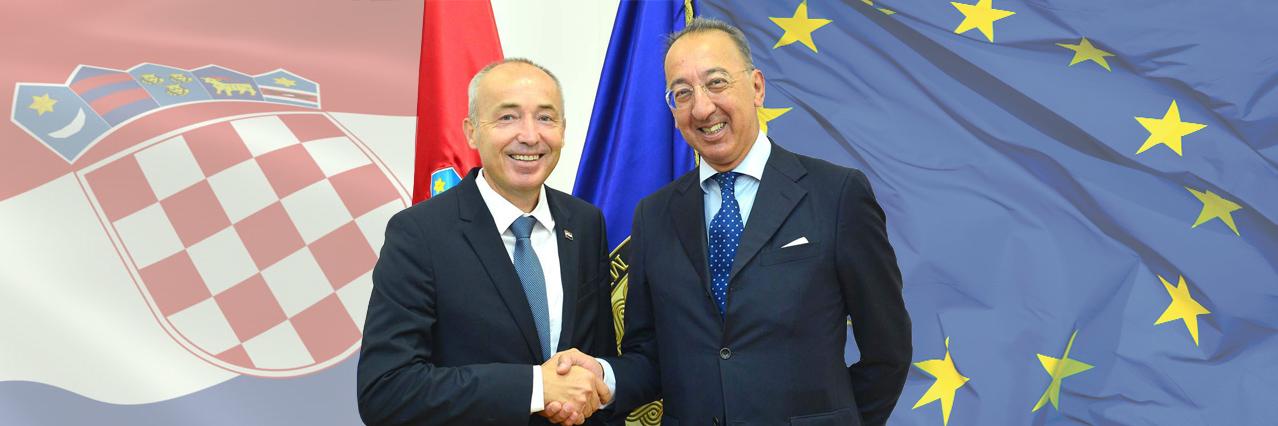 EDA Chief Executive for talks in Zagreb