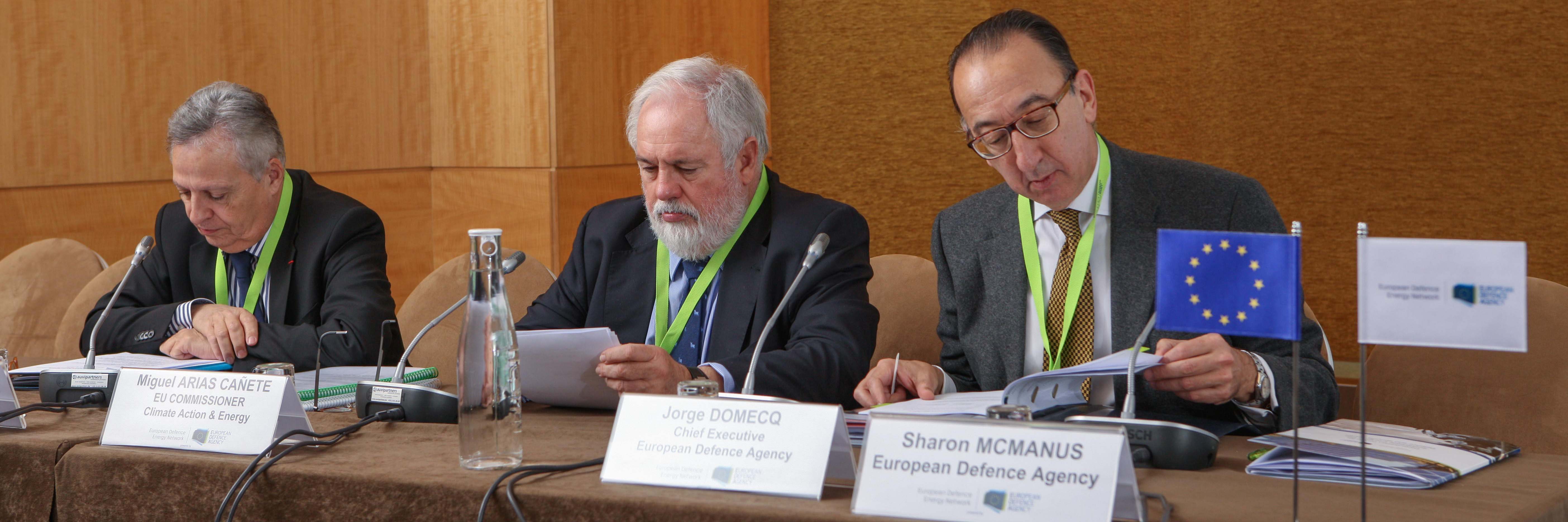 Consultation Forum for sustainable energy in the defence and security sector put in action