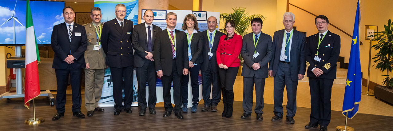 Third conference of the Consultation Forum for Sustainable Energy in Defence held in Rome