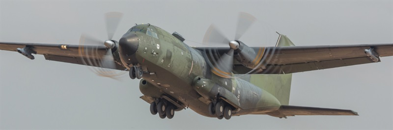 Multi-ship, format flying at the core of airlift tactics course in France