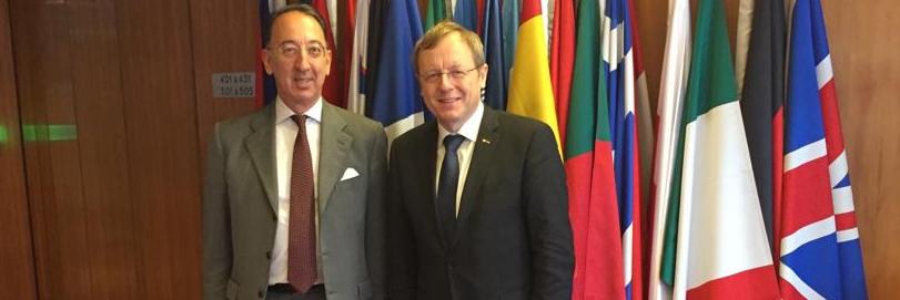 Chief Executive Domecq at ESA