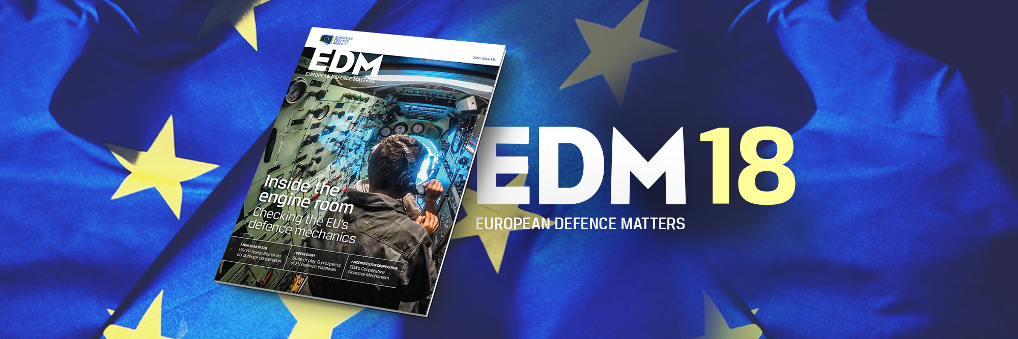 Focus on EU defence initiatives: the new EDA magazine is out!
