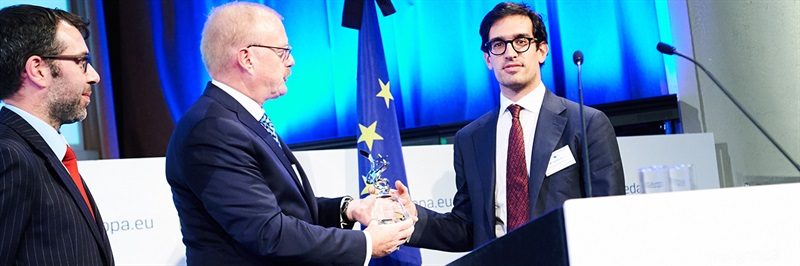 EDA-Egmont PhD Prize awarded