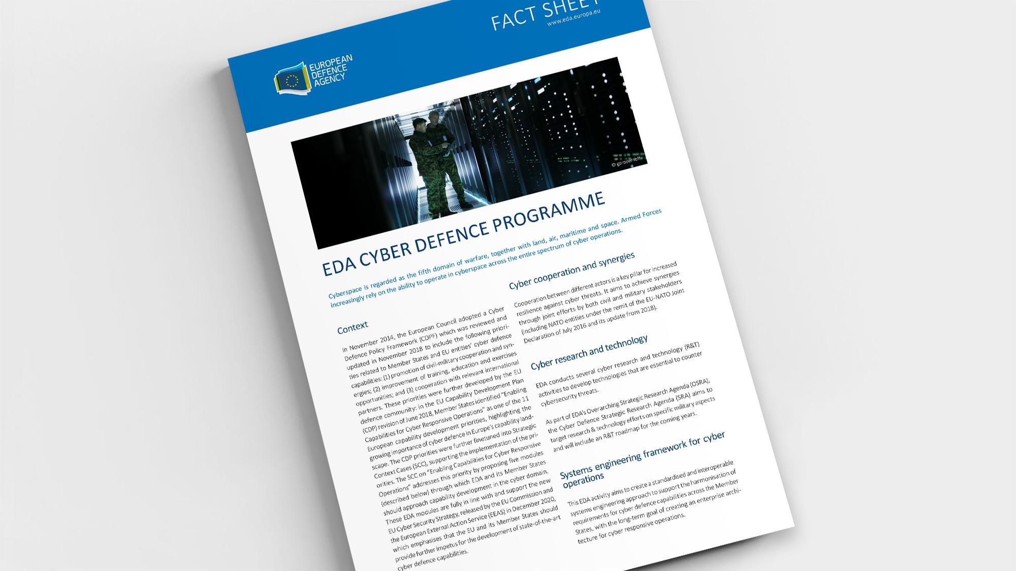 Factsheet-Cyber-Defence-Programme
