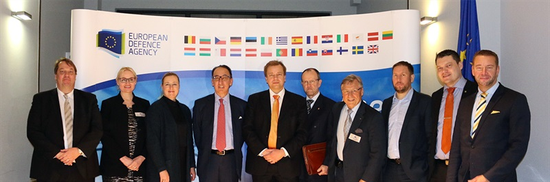 Delegation of Foreign Affairs Committee of the Finnish Parliament visits EDA