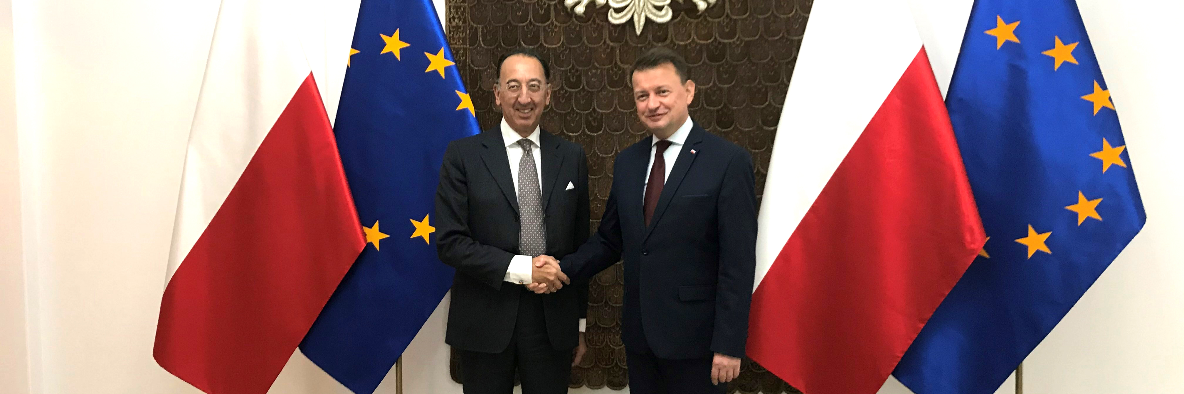 EDA Chief Executive holds talks in Poland