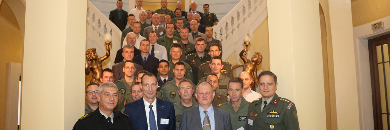 EDA Helicopter Tactics Symposium held in Athens
