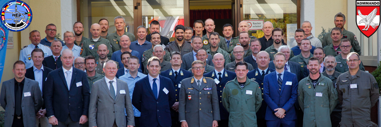 Helicopter Tactics high on EDA agenda with symposium held in Austria and instructor course completed in Sweden
