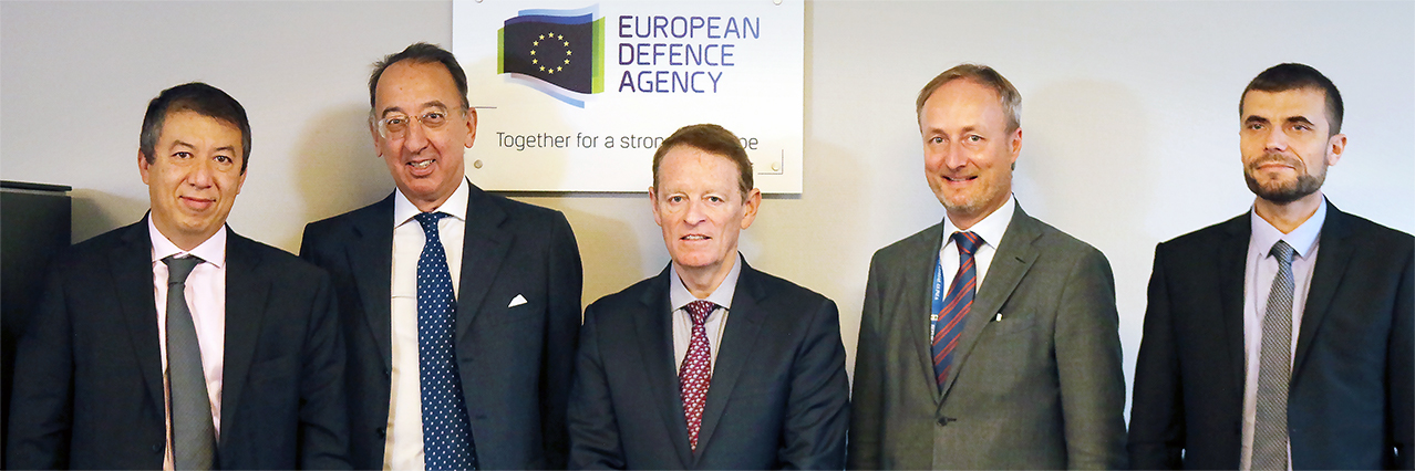 EDA holds talks with European aviation organisations on the future of Single European Sky and on RPAS Air Traffic Integration