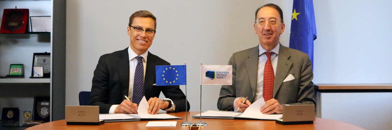 European Defence Agency and European Investment Bank sign cooperation agreement
