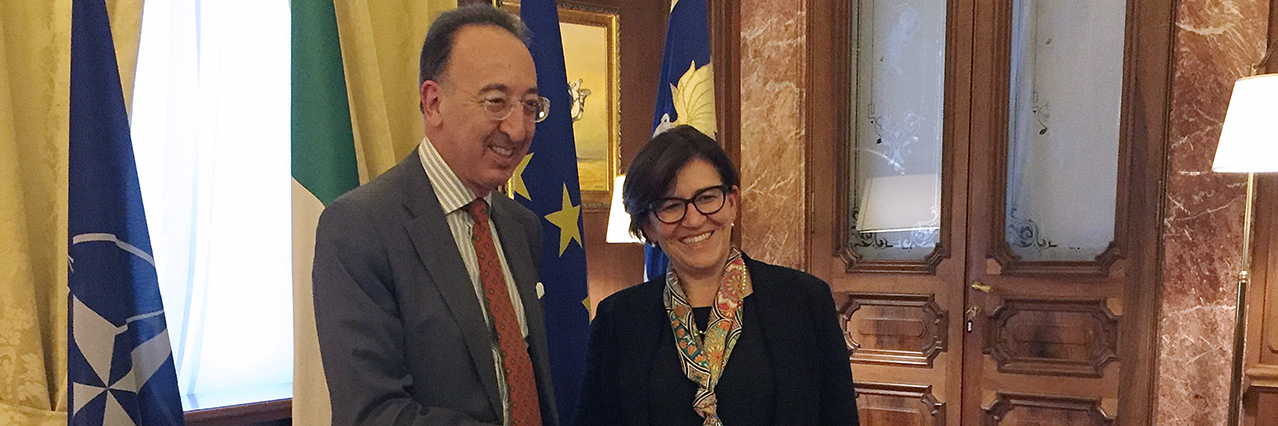 EDA Chief Executive holds talks in Italy
