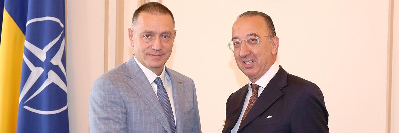 Chief Executive Domecq visits Romania