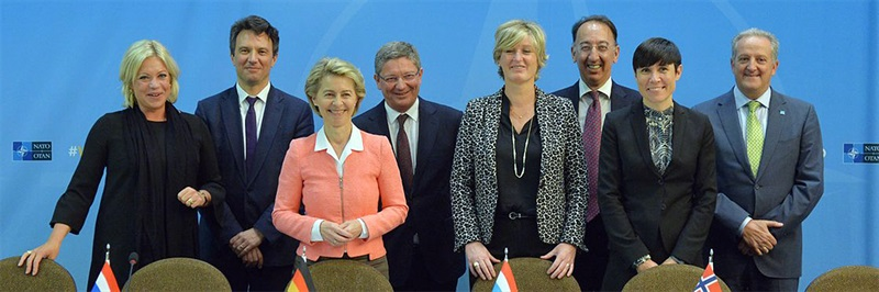 Germany and Norway formally join Netherlands and Luxembourg to operate pooled fleet of NATO-owned Airbus A330 MRTT tankers