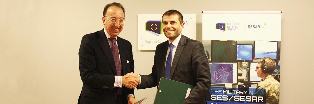 EDA and SESAR JU sign Memorandum of Cooperation