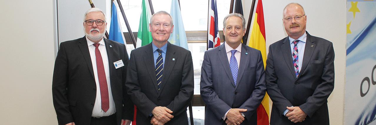 EDA Deputy Chief praises departing OCCAR Director, hails good cooperation