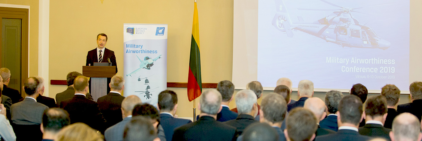 2019 Military Airworthiness Conference kicks off in Vilnius