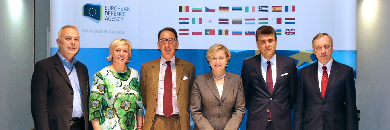 Members of European Parliament Subcommittee on Security and Defence (SEDE) visit the EDA