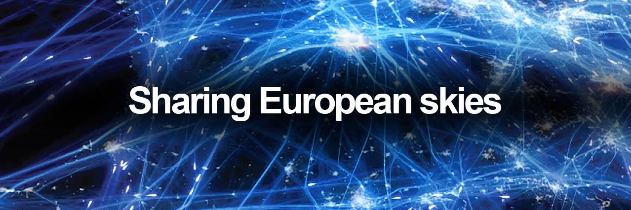 Sharing European skies