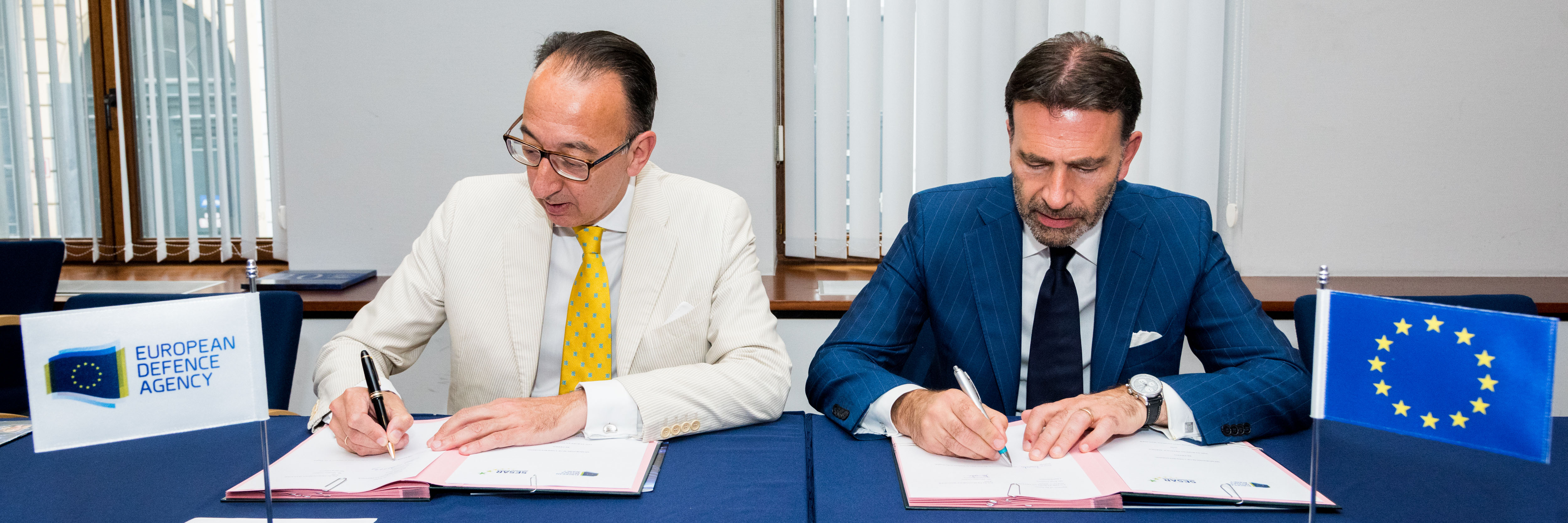 EDA and SESAR Deployment Manager seal cooperation