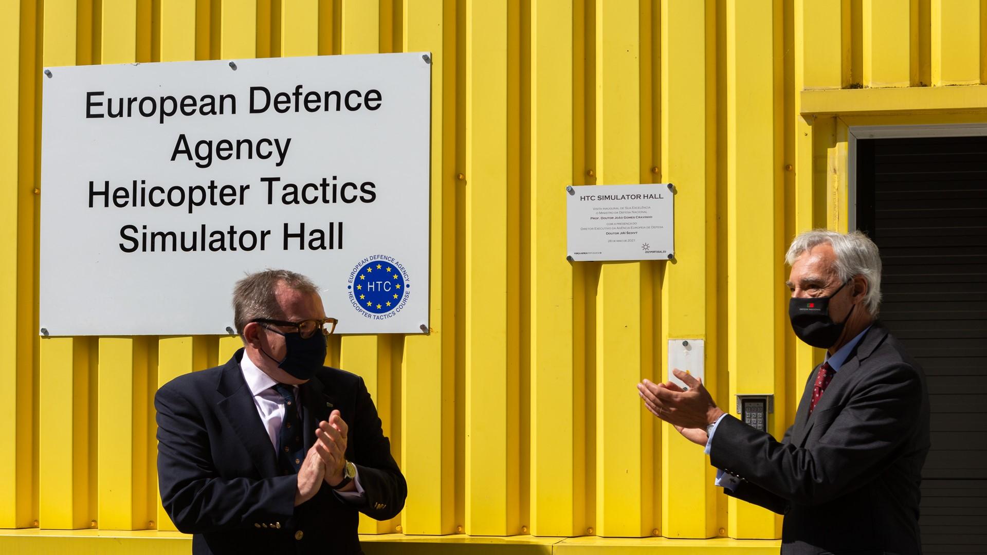 New EDA helicopter training simulator inaugurated