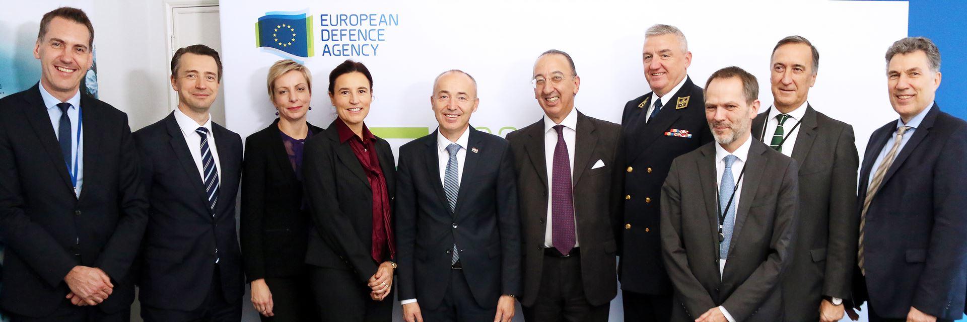 Croatian Deputy Prime Minister at EDA