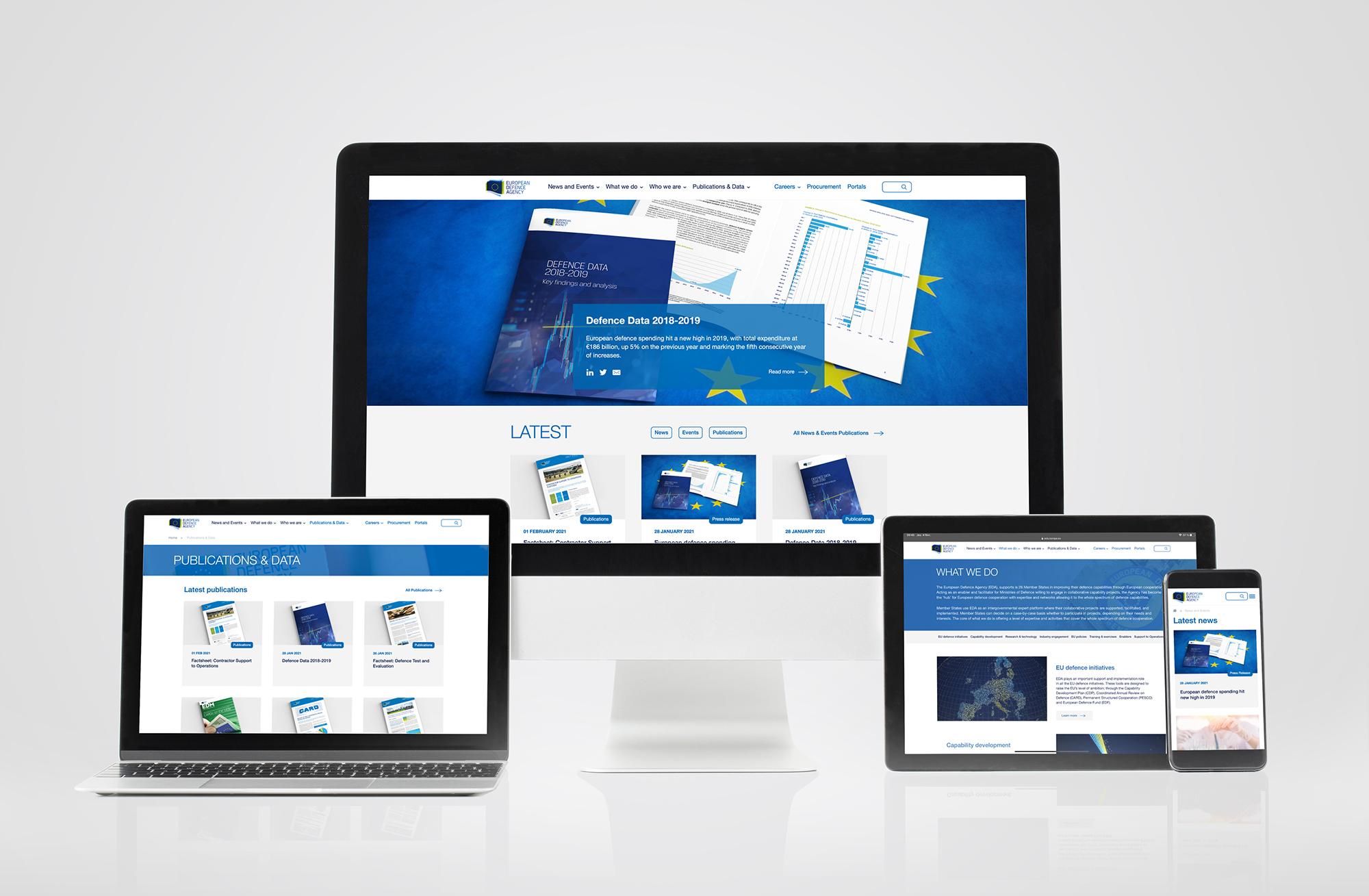 New look, fresh content: EDA's new website is online