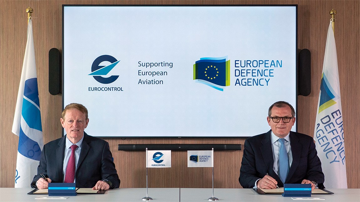 EDA and EUROCONTROL sign joint work programme
