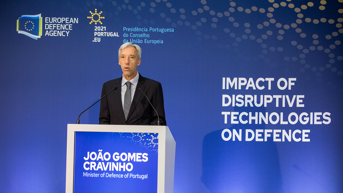 High-level conference discussed impact of emerging disruptive technologies on defence