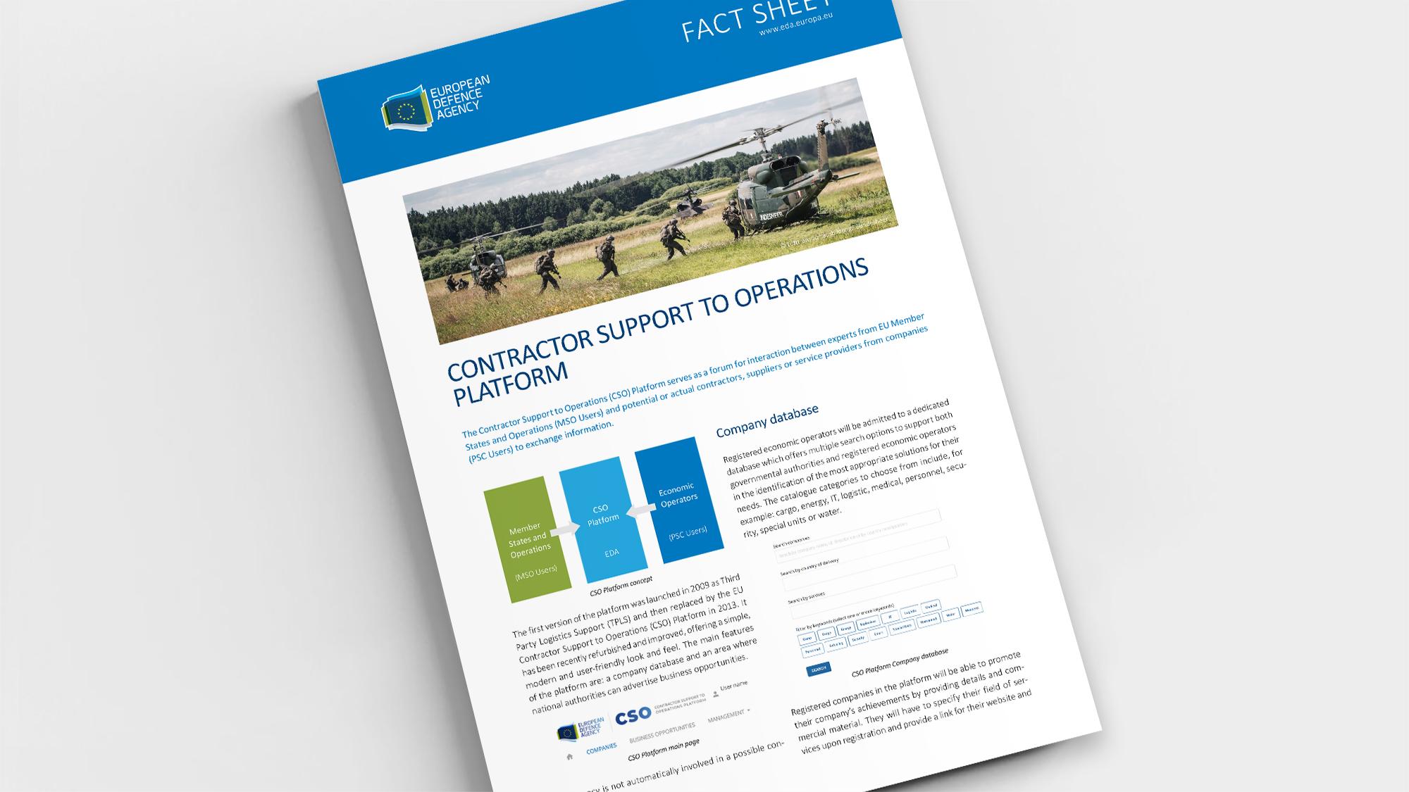 Factsheet CSO