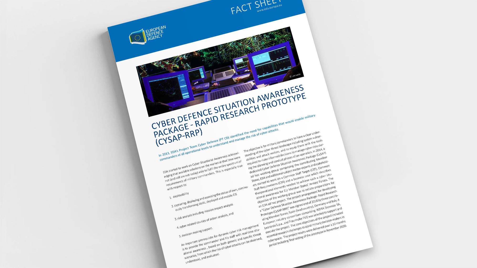 Factsheet CySAP RRP