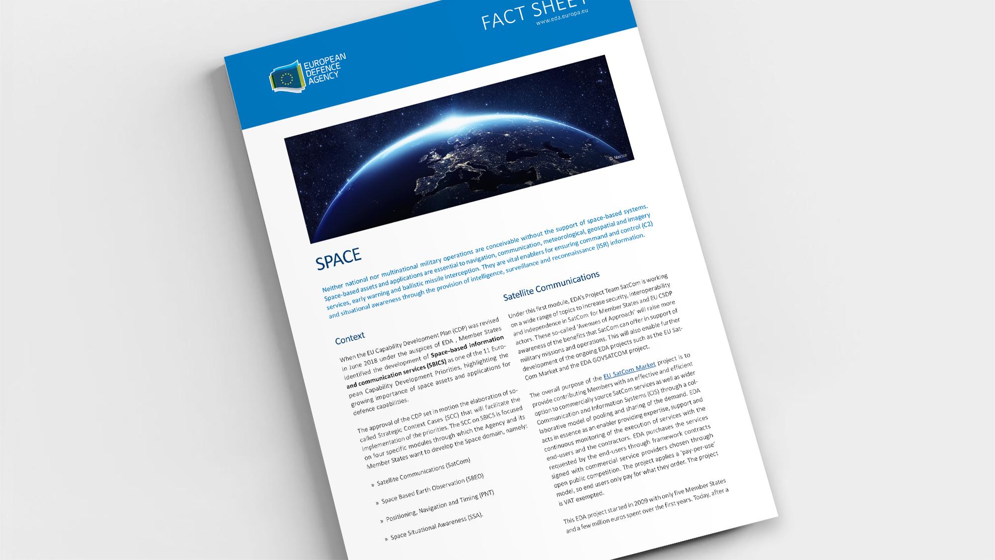 Factsheet Space