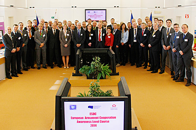 EDA organises joint course with European Security and Defence College