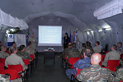 EDA provides cyber defence support to operation EUFOR RCA