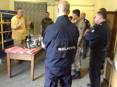 Law Enforcement and Military Combine Efforts at the First European Homemade Explosives Course