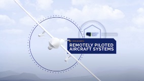 EDA work on MALE-type RPAS Air Traffic Integration backed by French test flight