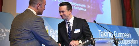 AI-driven decision aid project wins EDA Defence Innovation Prize