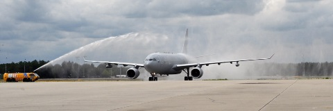 First MRTT aircraft delivered to Eindhoven