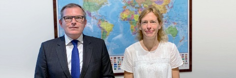 Chief Executive starts 'tour des capitales' with visit to France