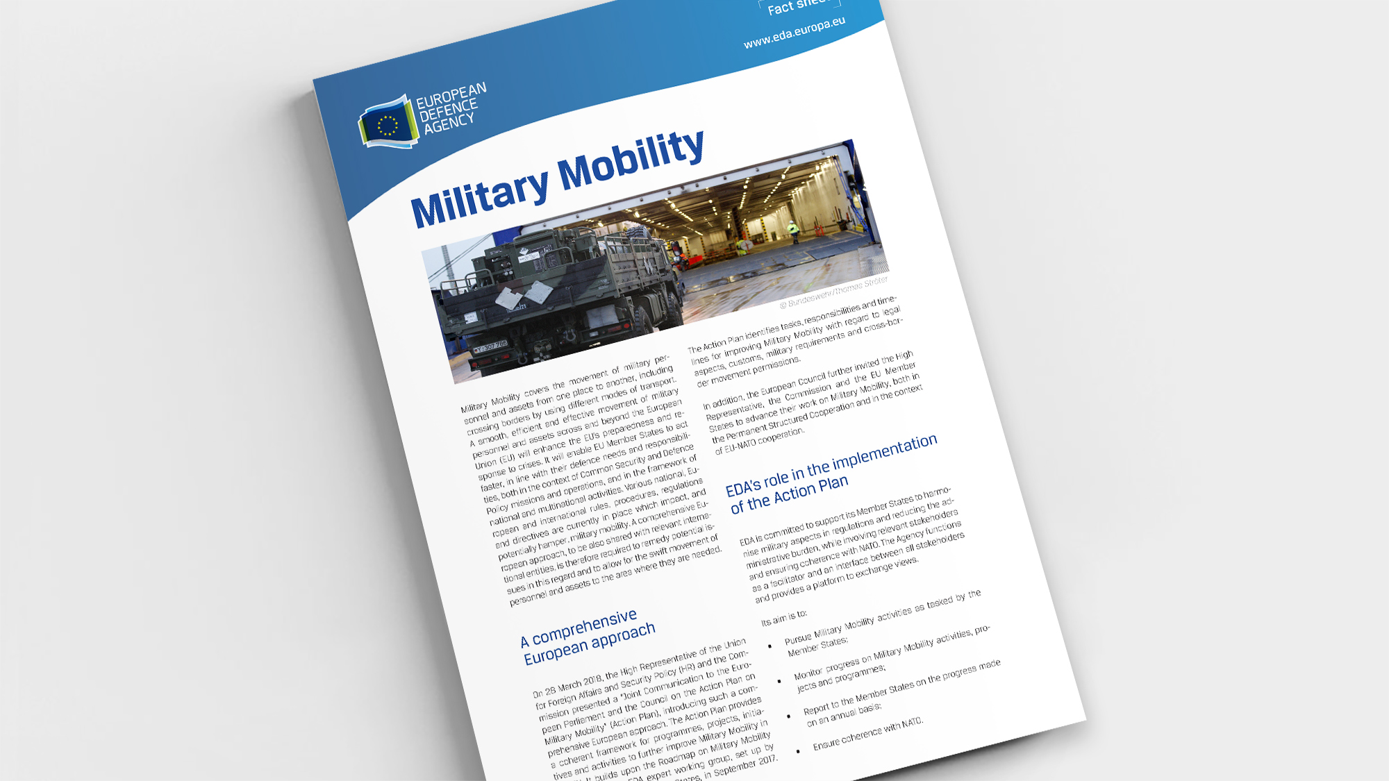 Factsheet Military Mobility